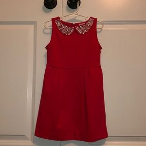 Crewcuts stunning red sparkle dress